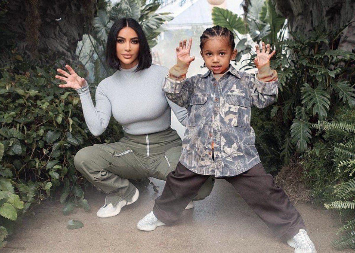 Kim Kardashian Shares New Photos Of Saint West S Epic Jurassic Park Fourth Birthday Party In 2020 Kim Kardashian Son Kim Kardashian And Kanye Kardashian Kids