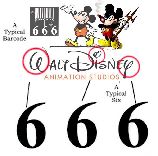 Hidden Satanic Symbols Logo 666 Pinterest Messages