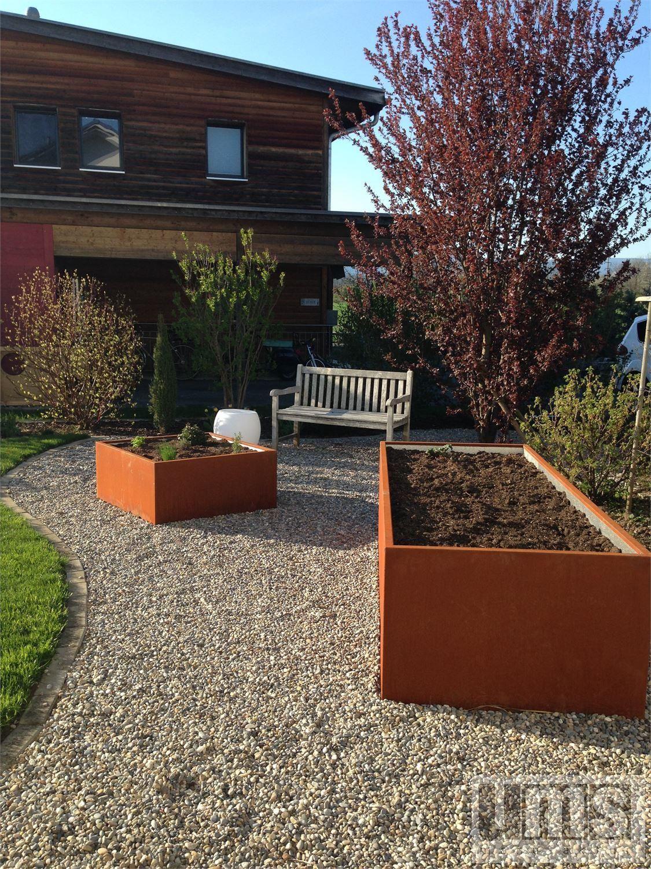 Fertige Hochbeet Und Hochbeet Bausatze Aus Metall Hochbeet Garten Hochbeet Garten
