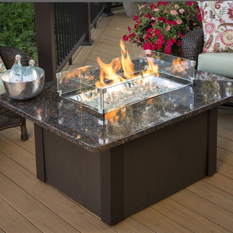 36 In W 65 000 Btu British Copper Metal Liquid Propane Gas Fire Table Patio Outdoor Greatroom Company Fire Pit Table Outdoor Fireplace Kits Fire Pit Furniture