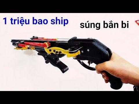 súng ná cao su SL.01 - GIÁ 1000K | super slingshot - YouTube