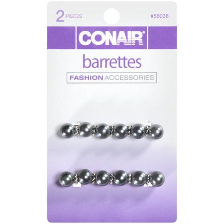 ***Discontinued***Conair Barrettes 58036, 2ct, Assorted