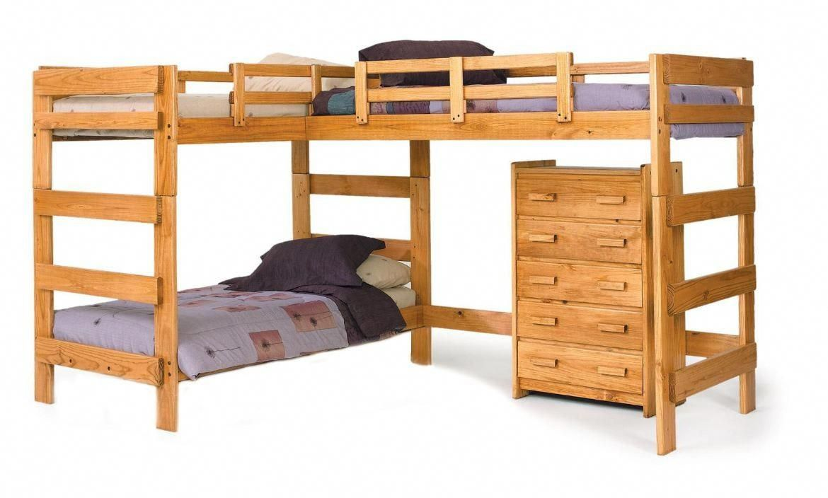 Double loft bed ideas  Not sure if this would fit in Samus tiny room