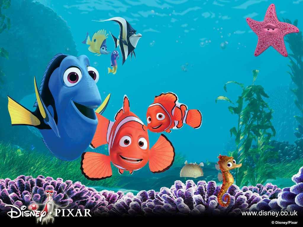 Sea Life | imagefriend.com - Your Friend For Images ...  Walt Disney Pictures Presents A Pixar Animation Studios Film Finding Nemo