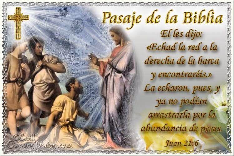 Resultado de imagen para Juan 21,6-8