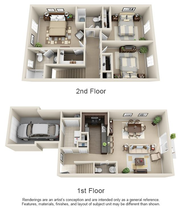2 Bedroom Apartments For Rent Manhattan: 1, 2 & 3 Bedroom Apartment Homes For Rent