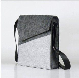 borse in feltro ricamate a mano con lana tote bag patchwork - Cerca con Google