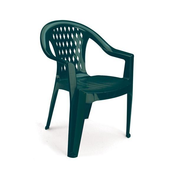 Sedie in plastica impilabili modello Tressi. Da esterno per ...