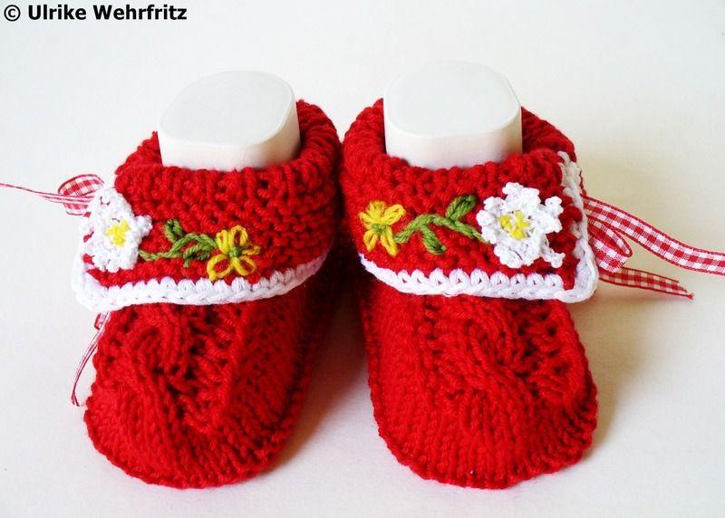 Babyschuhe Landhaus von strickliene auf DaWanda.com ♡ | baby ...