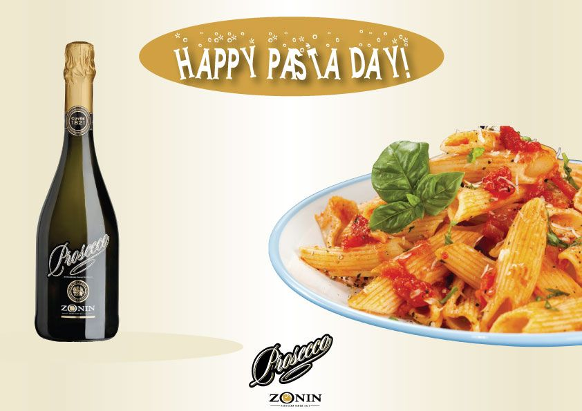 Pair your favorite pasta with our #ZoninProsecco! Happy National #PastaDay #Friday. Cheers!