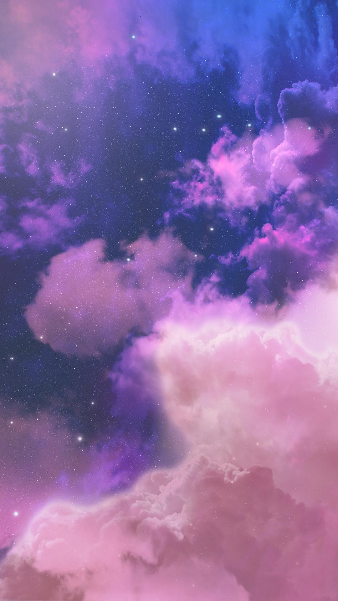 Wallpaper Purple Sky Von Gocase In 2020 Galaxy Wallpaper Iphone Galaxy Wallpaper Purple Wallpaper
