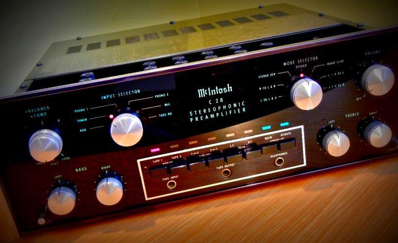 McIntosh MC2600 \/ C34 Vintage VU Amplifiers Pinterest Audio - p amp amp l forms