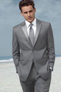 Slim tux in grey | Wedding | Pinterest | Gray tux, Wedding and Grey ...