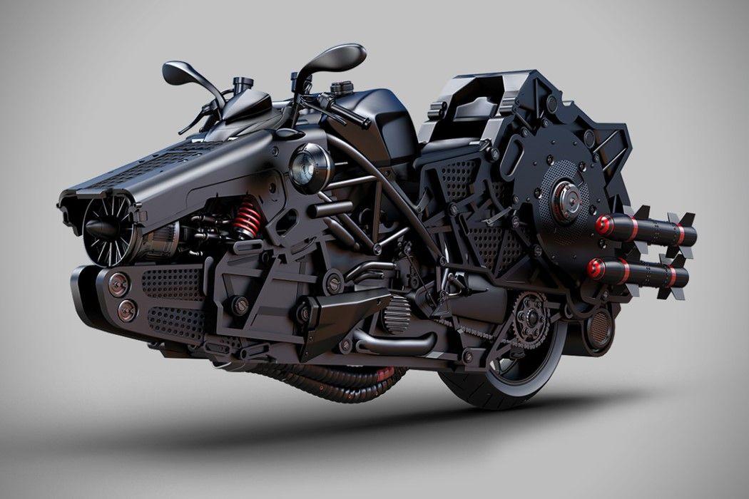 Modern Day Mad Max Motors Yanko Design Futuristic Cars Retro Futurism Futuristic