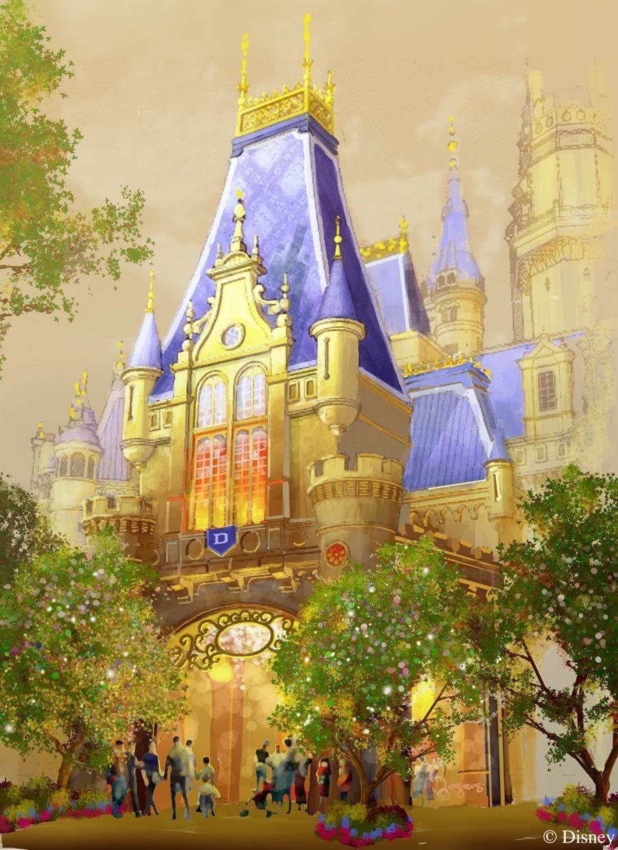 Sneak Peek: Enchanted Storybook Castle at Shanghai Disneyland ...