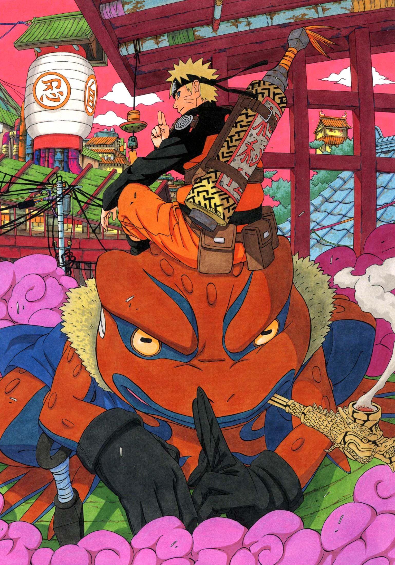 Naruto Uzumaki Art Book 2 29 Artwork Pinterest