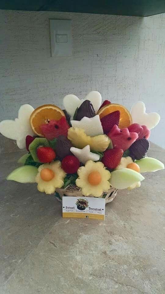 Arreglo Frutal By Sweet Bouquet En Chihuahua Chih Sweet