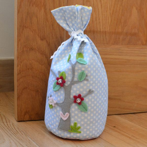 How to Make a Door stop using Fat Quarters #Sewing #FatQuarters #Homecraft