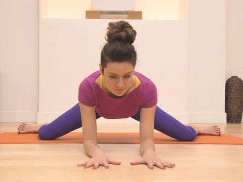 hanumanasana part 3 inner thighs groin and core yoga