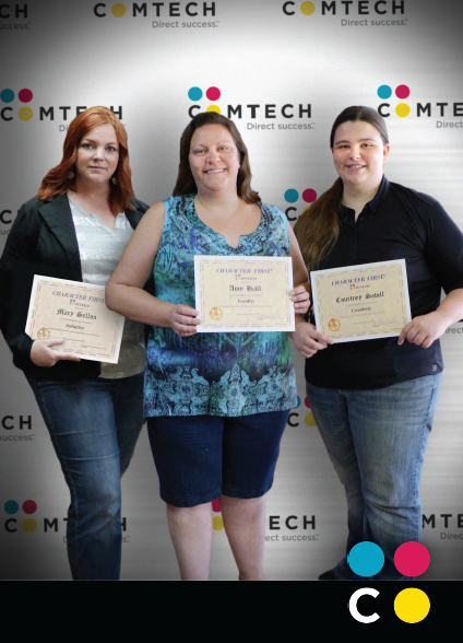 September #Anniversaries! This month we have three coworker anniversaries. Join us in congratulating two members of our outstanding accounts teams and one of our amazing designers! Mary Sellon - Graphic Designer - 2 years of service Amy Hall - Account Manager - 6 years of service Courtney Savill - Account Assistant - 1 year of service