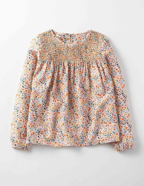 Ditzy Daisy Top 91393 Tops & T-shirts at Boden