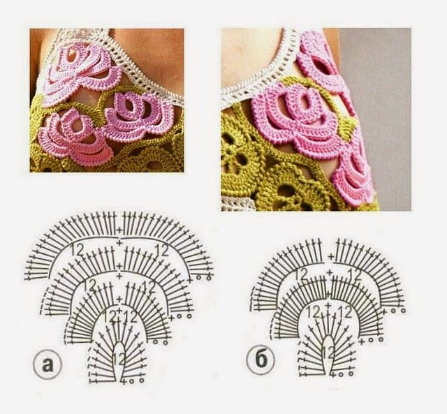 Meu Paraiso: Graficos Croche Irlandes | irish crochet | Pinterest ...