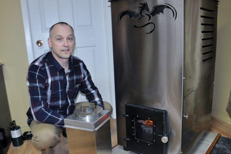 Un poêle à granules sans électricité conçu à Rimouski INNOVATION - electricite dans une maison
