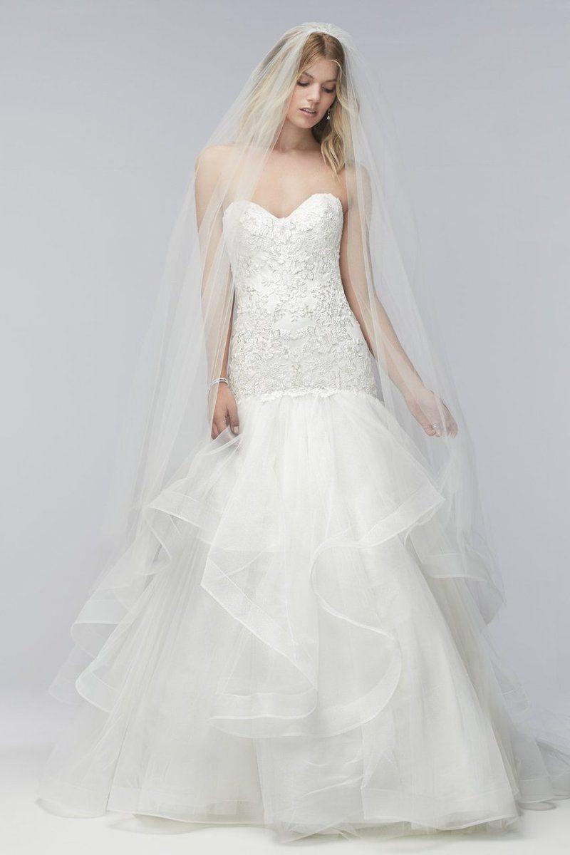 Wtoo Wedding Dress Dorothy- Discontinued | Blush bridal, Wedding ...