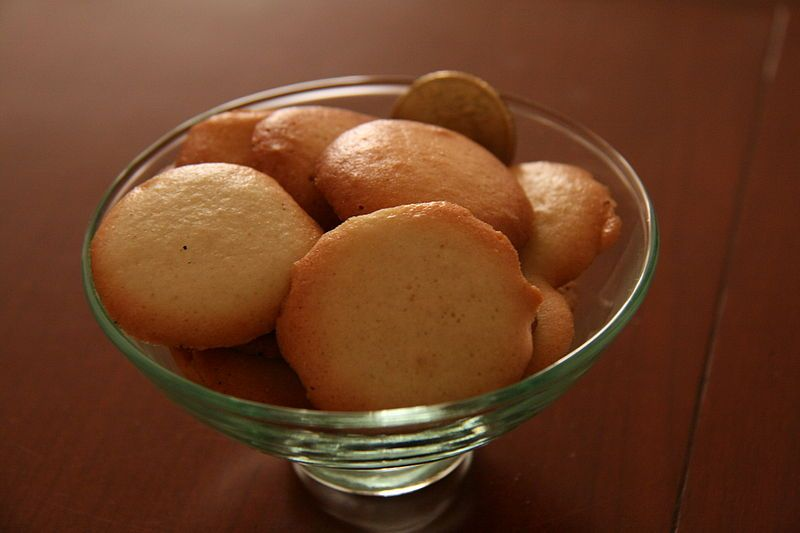 "Paciencias. Delicioso dulce que se come con ""paciencia"", tipico de Almazán"
