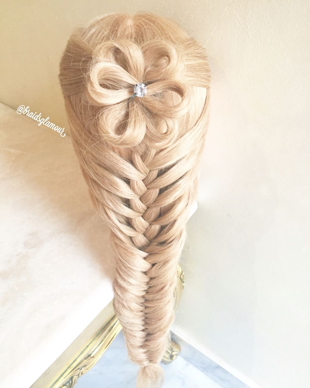 Girls updos hairstyles fishtail braids fishtail and hair style