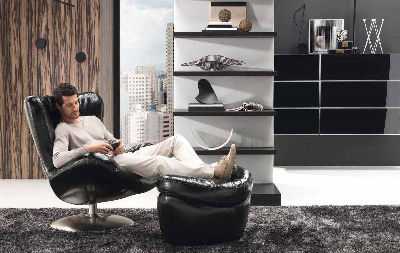 17 Classy And Elegant Black Living Room Furniture : Classy Black ...
