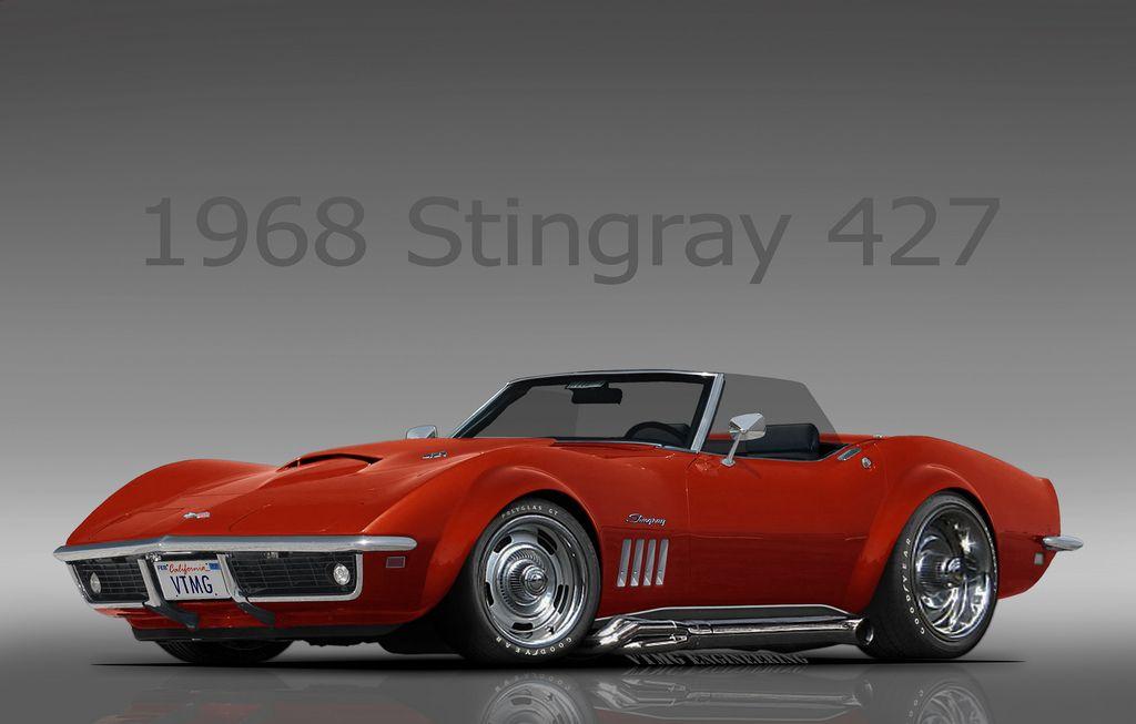 1968 Chevrolet Corvette Stingray w/ all Original Parts Upgrades ...