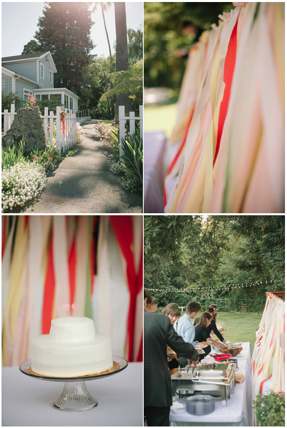 Potluck Backyard Wedding!