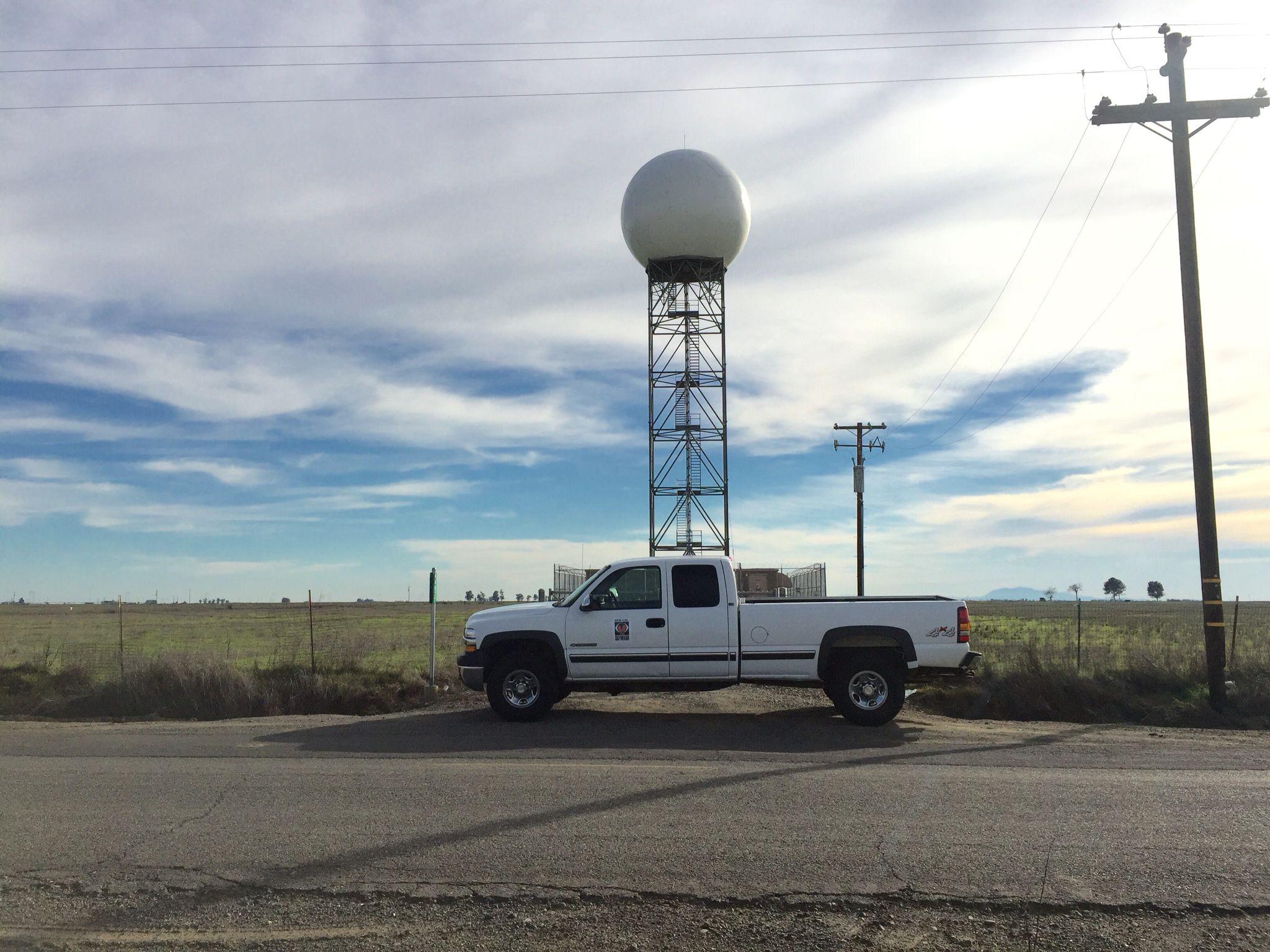National weather service doppler radar kdax near davis