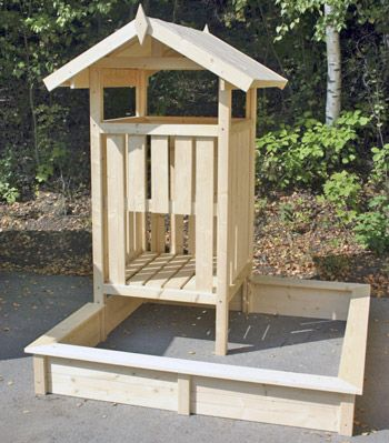 spielturm max mit sandkasten garten pinterest. Black Bedroom Furniture Sets. Home Design Ideas