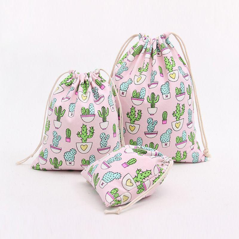 2e66b018e6c8 Encontrar Más Bolsas de cosméticos y Estuches Información acerca de Yile  lona de algodón hecha a mano regalo del té clasificado bolsa cadena  Extensiones ...
