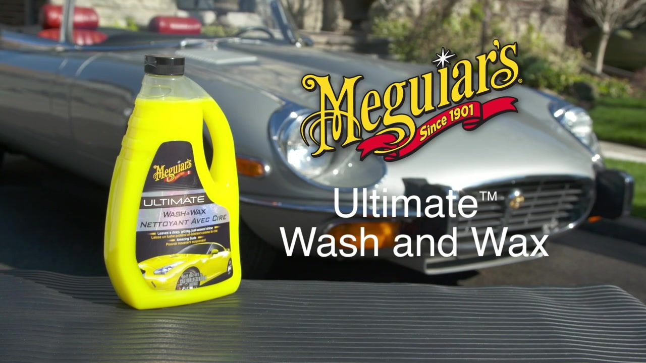 Meguiar's Ultimate Wash & Wax Wax, Canadian tire, Car