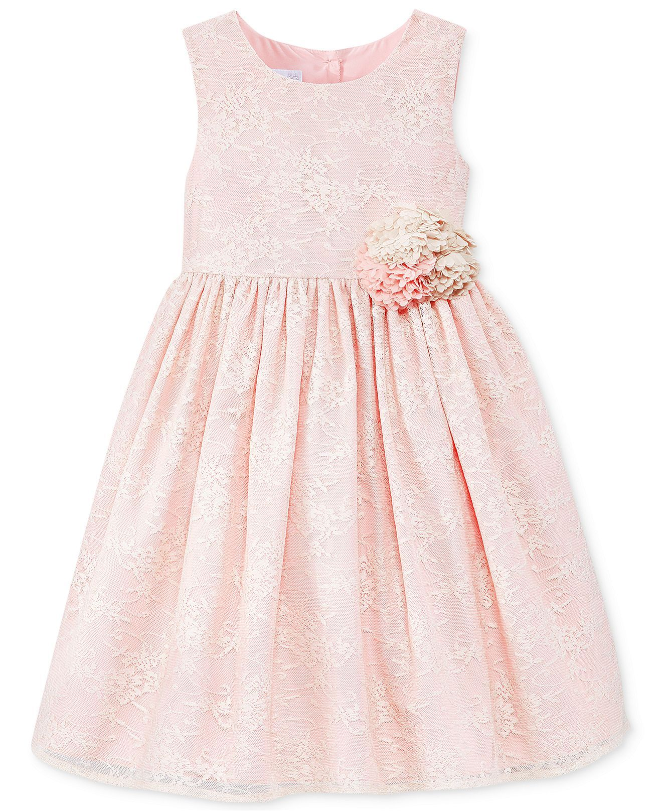 Marmellata Little Girls Pink Lace Dress Kids Macy s