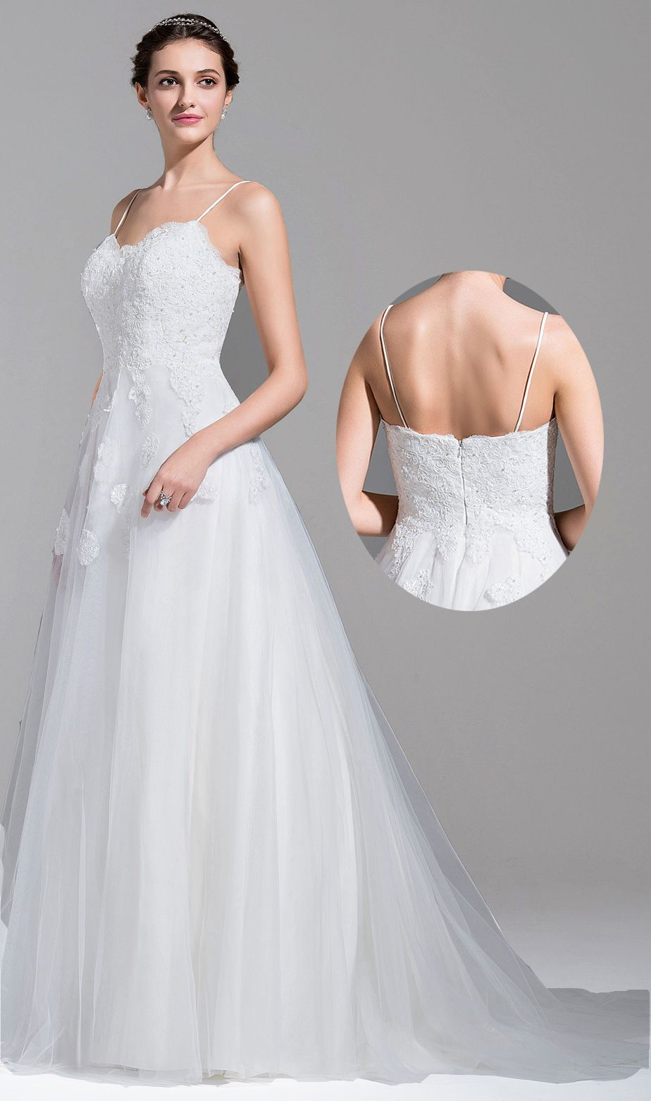 43++ Sweetheart wedding dress with straps information