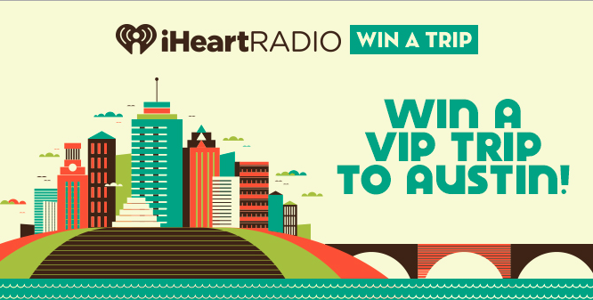 Win a VIP trip to Austin City Limits Music Festival!