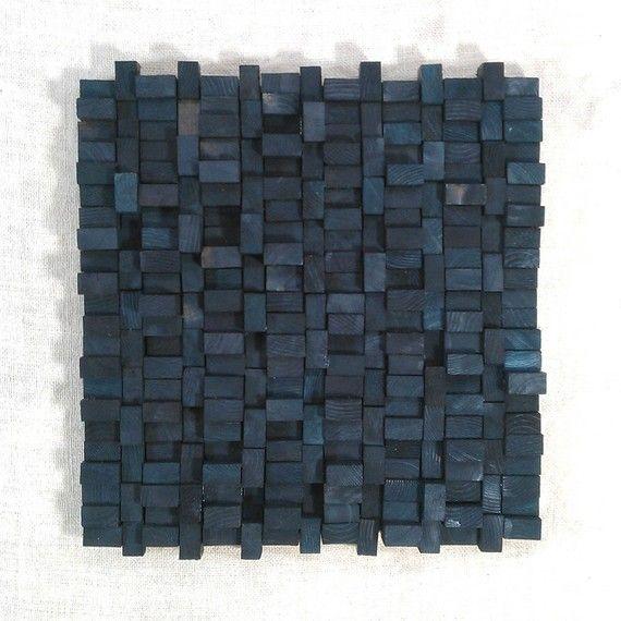 Wood Blocks - wall sculpture Wohnzimmer Pinterest Skulptur - moderne skulpturen wohnzimmer