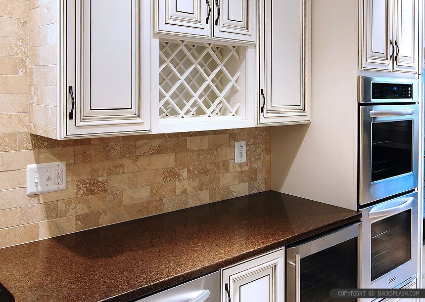 50 Travertine Tile Backsplash Photos Tile Designs Tips