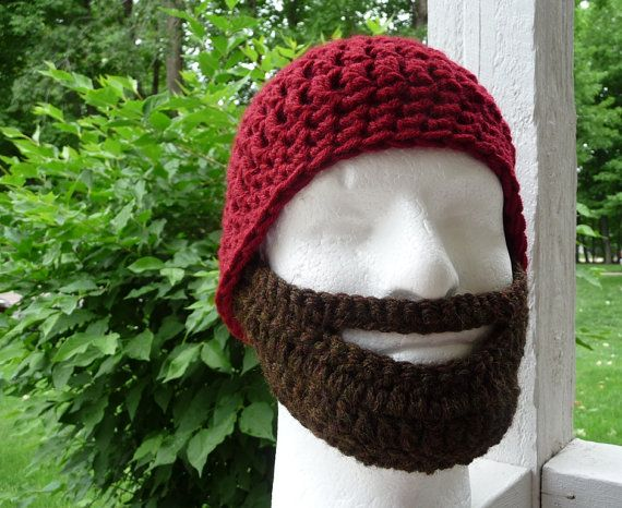 In Case I Hate The Knitting Pattern I Have Adult Crochet Beard
