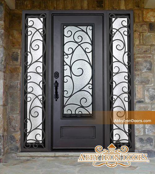 Abby Iron Doors & Abby Iron Doors | Villa soco | Pinterest | Iron and Doors