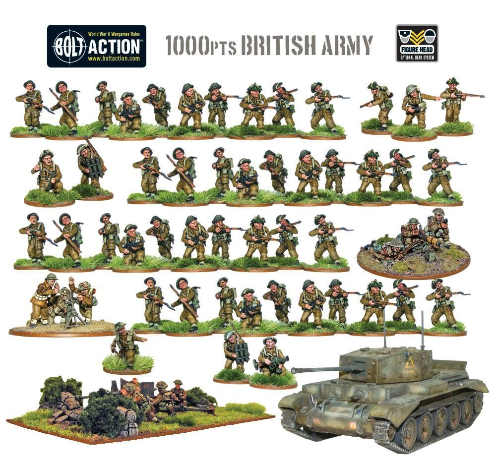 Toy Soldiers Mini Army Germany World War II Death Squad Gift Set Mini Figures