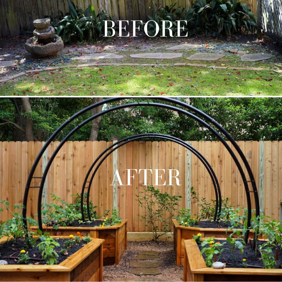 6ed9a9a02ae66db2b2757101307c473e - Before And After Pictures Of Gardens