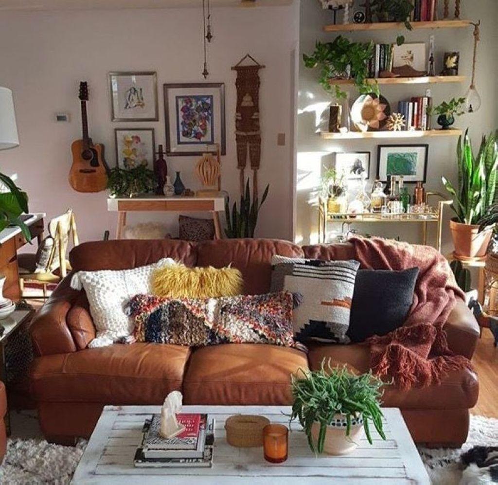 Home Design Ideas Classy: 43 Elegant Bohemian Style Living Room Decoration Ideas