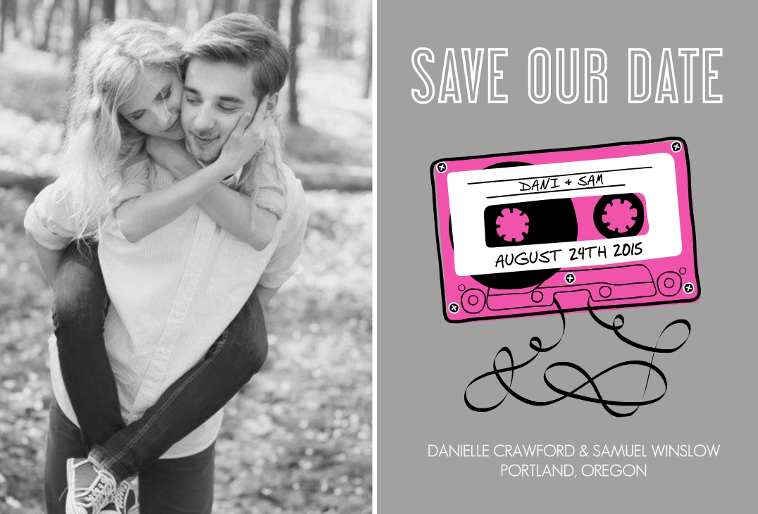 Funny Save The Date Wording Ideas Photos, Messages