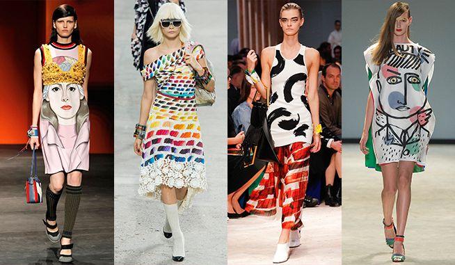 fashion trends summer 2014 art