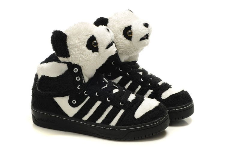 the latest 676d5 00801 Panda High-Tops- Jedward